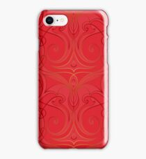 abstract chinese new year background vector design iPhone Case/Skin