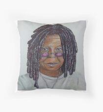 Whoppi Goldberg. Throw Pillow