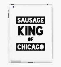 Sausage King of Chicago iPad Case/Skin