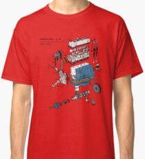 Nissan L4 Exploded View Classic T-Shirt