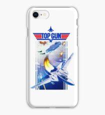 Top Gun NES Cover Art iPhone Case/Skin