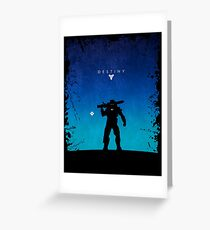 Robot Shooter Greeting Card