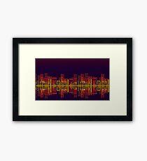 Chemical Plant Zone Framed Print