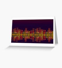 Chemical Plant Zone Greeting Card