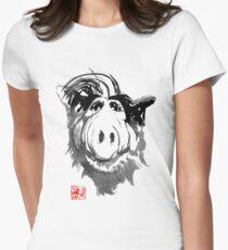 Camiseta entallada para mujer alf 02