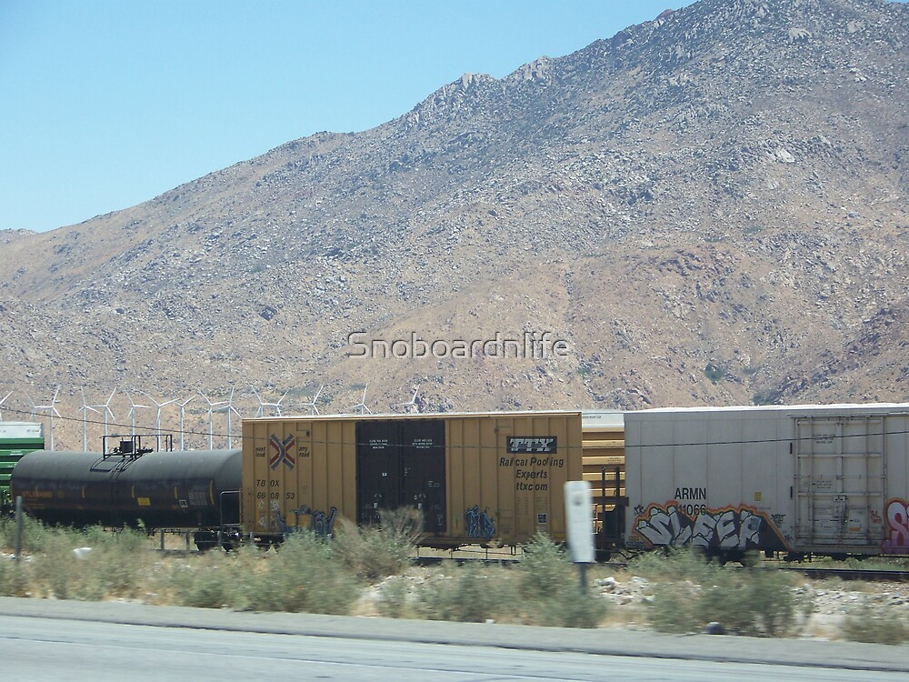Californian Railroad by Snoboardnlife
