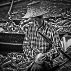 Thai fruits of labor on the floating market by QuintaVale