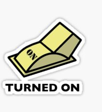 Turned on fixed Sticker