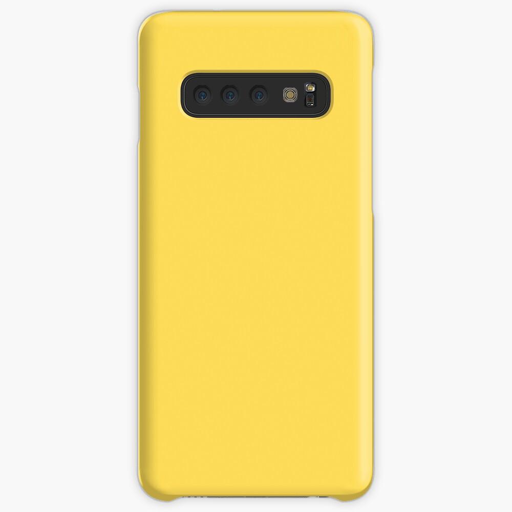 Senfgelb einfarbig Hüllen & Klebefolien für Samsung Galaxy