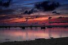 Sunset on Fisherman's Lagoon by Kasia-D