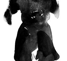 black dog by pechane