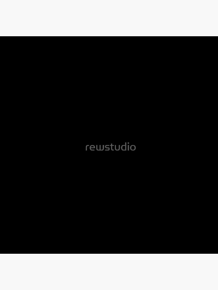 Ultimate Black Solid Color by rewstudio