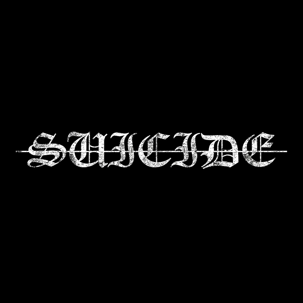-SUICIDE- by dishess