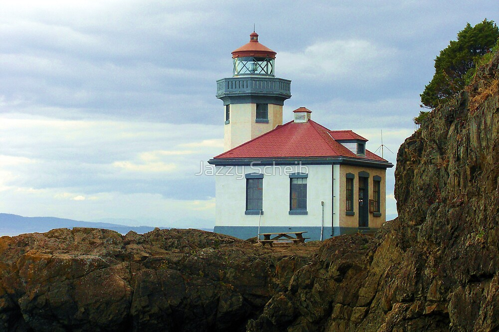 Light House by Jazzy Scheib