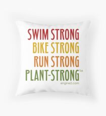 Tri-Strong Throw Pillow