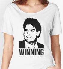 Charlie Sheen Winning Women's Relaxed Fit T-Shirt