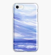 Life is Swell - Ocean + Sky Painting iPhone Case/Skin