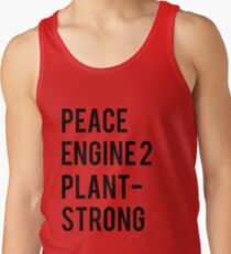 Peace, Engine 2, Plant-Strong Tank Top