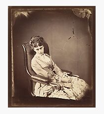 Photograph by Lewis Carroll, The Last Sitting, 1870 Photographic Print
