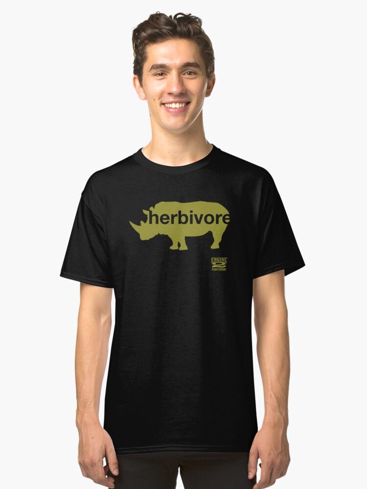 Herbivore Green Classic T-Shirt Front