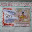 Buddha Collage - JUSTART ©  by JUSTART