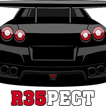 Nissan GT-R R35 by w1gger