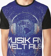 Musik An - Welt Aus ➢ Ich liebe Musik Graphic T-Shirt