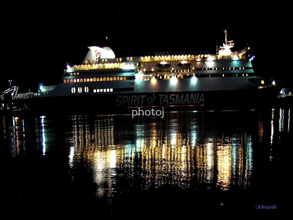 photoj Tas Spirit Ferry Boat by photoj