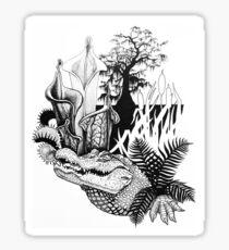 Swamp Carnivores Sticker