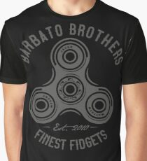 Barbato Brothers World's Finest Fidget Spinners Graphic T-Shirt