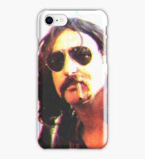 Nick Mason pink floyd poster iPhone Case/Skin
