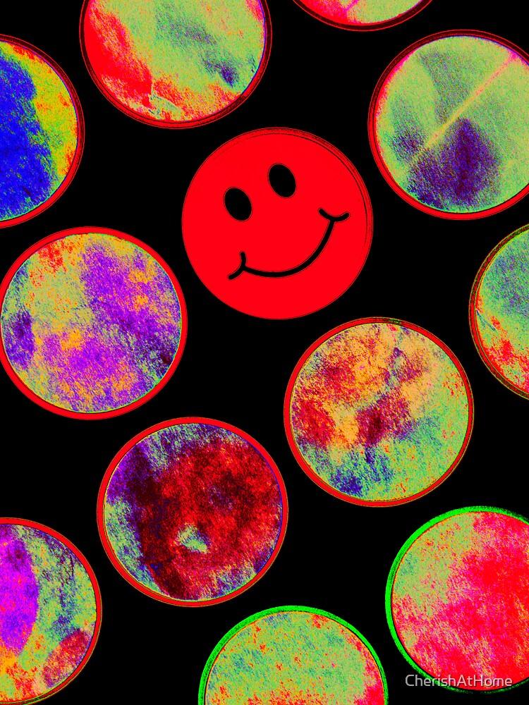 Psychadelic Smiley by CherishAtHome
