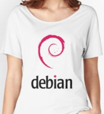 Debian - Logo Women's Relaxed Fit T-Shirt
