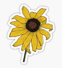 Black Eyed Susan Illustration Sticker