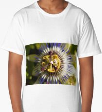 Common passion flower (Passiflora caerulea) Long T-Shirt