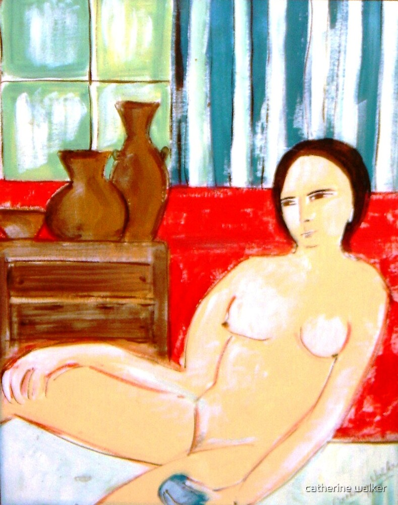 Lady in the Bedroom by catherine walker