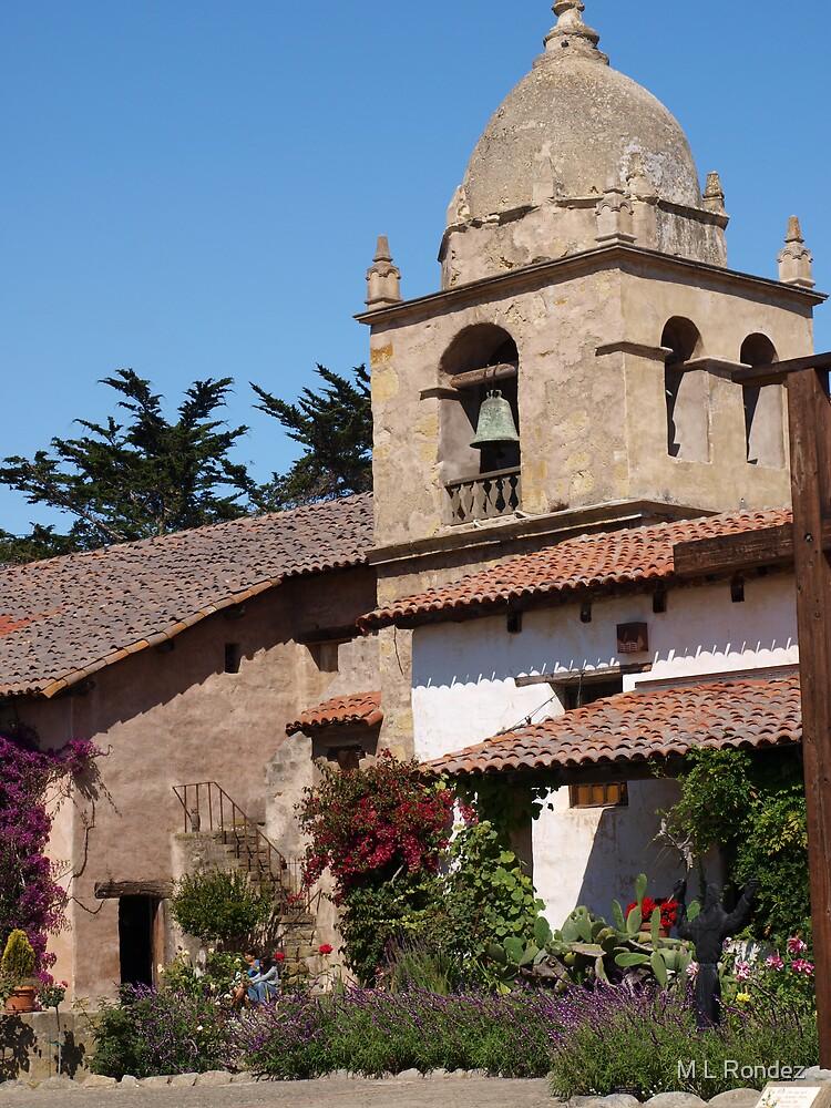Carmel Mission by M L Rondez