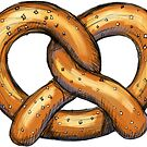 Pretzel Illustration by William Fehr
