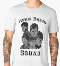 Iwan Rheon mural Men's Premium T-Shirt