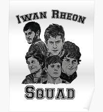 Iwan Rheon mural Poster