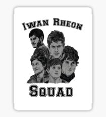 Iwan Rheon mural Sticker