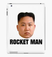 ROCKET MAN [black text] iPad Case/Skin