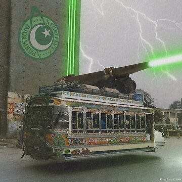 Our Top Secret Bedford Bus Mounted Directed Energy Torpedo Cannon by Dovetastic