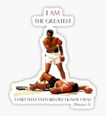 Muhammad Ali Tribute Sticker