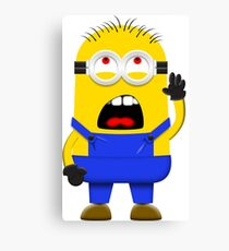 Despicable Minion Canvas Print