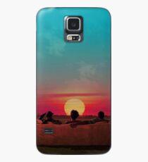 Sunset (Red/Blue Alternative) Case/Skin for Samsung Galaxy
