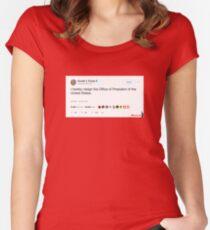 Wishful Tweeting Women's Fitted Scoop T-Shirt