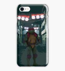 TMNT - Raphael in alley iPhone Case/Skin