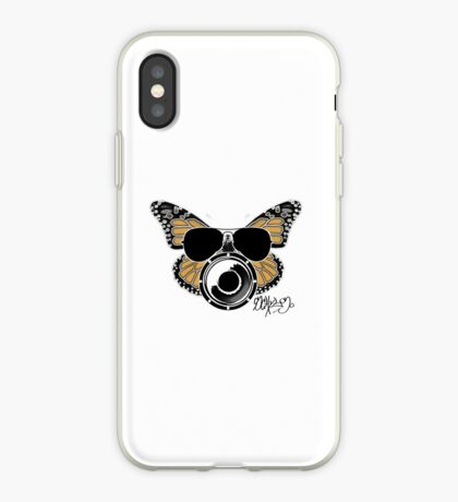 Butterbeat in Aviators iPhone Case