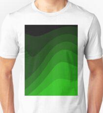 green flow rolling mountains T-Shirt